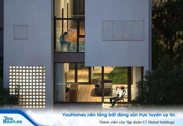 Nhà phố 3 tầng tuyệt đẹp giúp cả gia đình kết nối