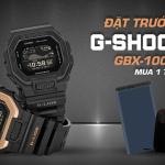 """Ngắm và """"săn"""" ngay đồng hồ nam Casio G-SHOCK GBX-100NS sắp ra mắt"""